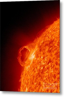 Solar Prominence Metal Print by Science Source