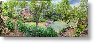 1007-2789 Old Mill  Metal Print by Randy Forrester