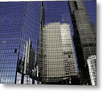 Metal Print featuring the photograph Chicago Architecture by Paul Plaine