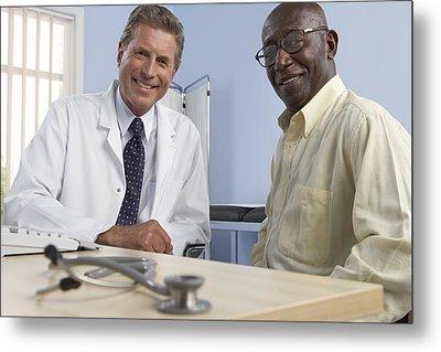 Medical Consultation Metal Print