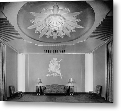 Movie Theaters, The Paramount Theatre Metal Print by Everett