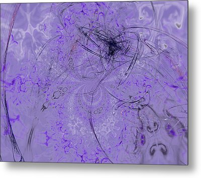 1123 Lavender And Grapes Metal Print by Scott Bishop