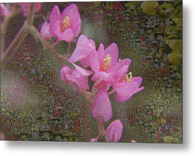 In Bloom Collections Metal Print by Chye Kwang Yan
