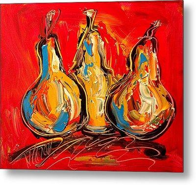 Pears Metal Print by Mark Kazav