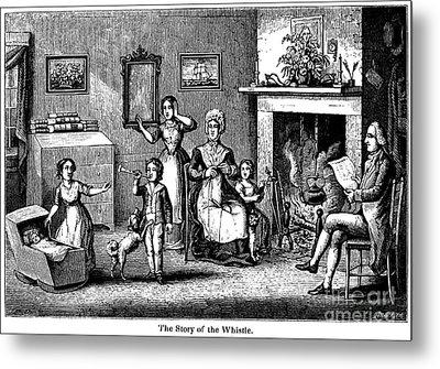 Benjamin Franklin Metal Print by Granger