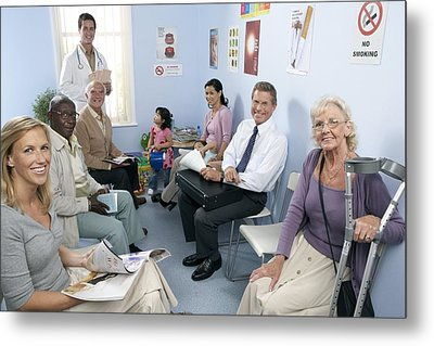 General Practice Waiting Room Metal Print by Adam Gault