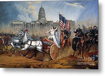 Emancipation Proclamation Metal Print by Granger