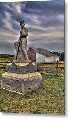 149th Pennsylvania Infantry Metal Print by Dave Sandt