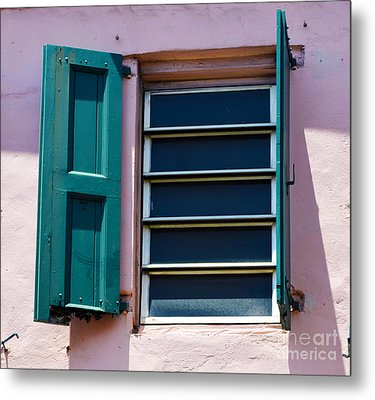 Architectural Series  Metal Print by Terry Troupe