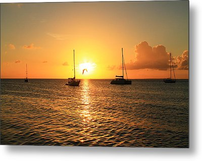 Sunset Metal Print by Catie Canetti