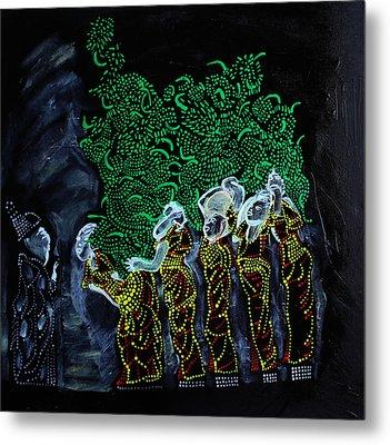 Wise Virgins Metal Print by Gloria Ssali