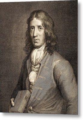 1698 William Dampier Pirate Naturalist Metal Print by Paul D Stewart