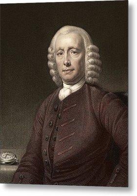 1767 John Harrison & Marine Timekeeper H4 Metal Print by Paul D Stewart