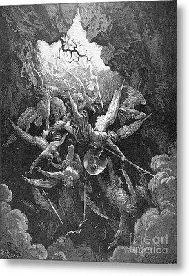 Milton: Paradise Lost Metal Print by Granger