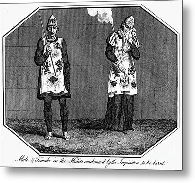 Spanish Inquisition Metal Print by Granger