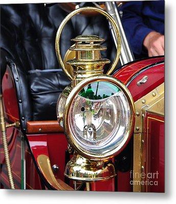 1907 Stanley Steamer - Lantern Metal Print by Kaye Menner