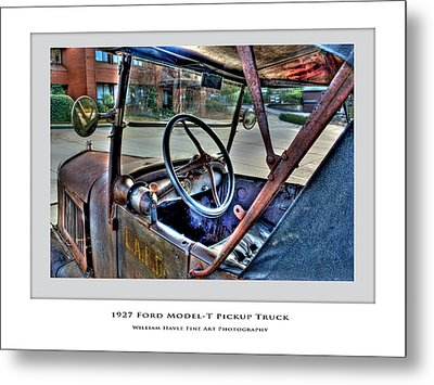 Metal Print featuring the photograph 1927 Model-t by William Havle