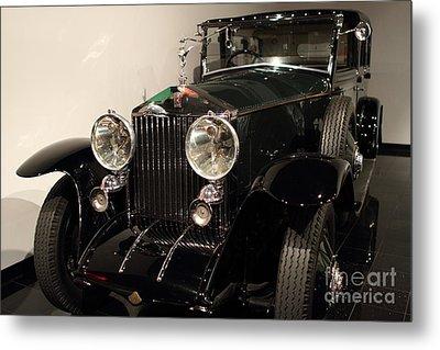 1927 Rolls Royce Phantom 1 Towncar - 7d17195 Metal Print by Wingsdomain Art and Photography