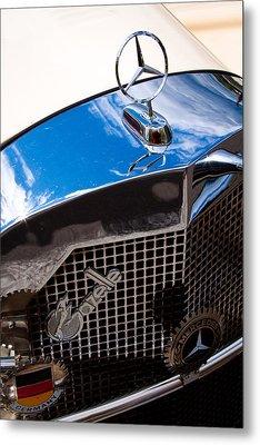 1929 Mercedes Ssk Gazelle Roadster Metal Print by David Patterson