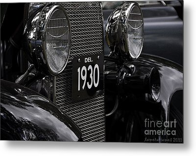 Metal Print featuring the photograph 1930 by Tamera James