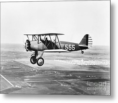 1930s Pilot Training Metal Print by Omikron