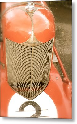 Metal Print featuring the photograph 1931 Clemons On A 1927 Duesenberg Chassis by John Colley