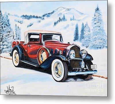 1931 La Salle Convertible Coupe Metal Print