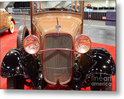 1932 Ford Model B-150 Station Wagon . 7d9206 Metal Print by Wingsdomain Art and Photography