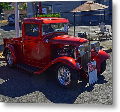 Metal Print featuring the photograph 1932 Ford Pick Up by Tikvah's Hope