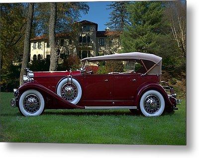 1932 Packard 903 Deluxe Eight Sport Phaeton Metal Print