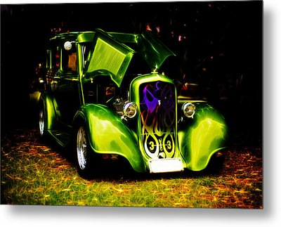 1933 Plymouth Hot Rod Metal Print