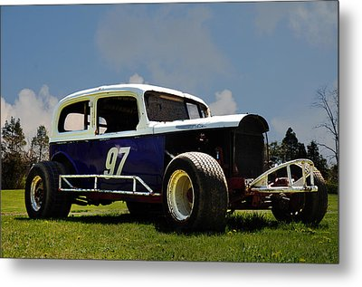 1934 Ford Stock Car Metal Print by Bill Cannon