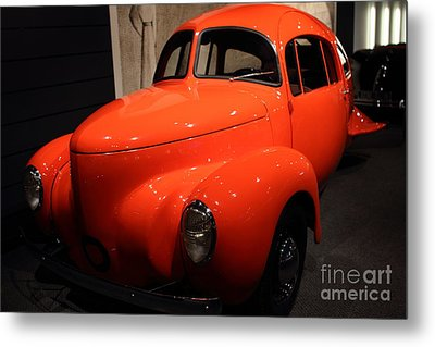 1937 Airomobile . 7d17314 Metal Print by Wingsdomain Art and Photography