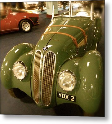 Metal Print featuring the photograph 1937 Bmw 328 by John Colley