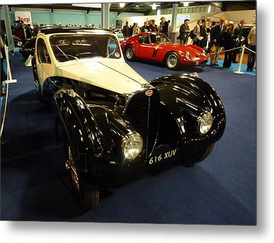 Metal Print featuring the photograph 1937 Bugatti Type S7sc Altalante by John Colley