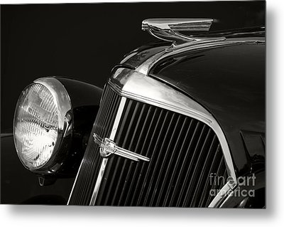 1937 Chevy Metal Print by Dennis Hedberg