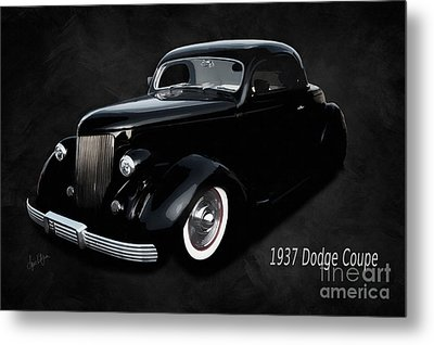 1937 Dodge Coupe  Metal Print by Anne Kitzman