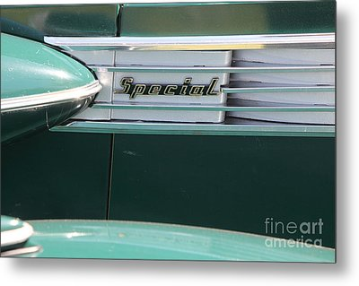 1938 Buick Special . 5d16226 Metal Print by Wingsdomain Art and Photography