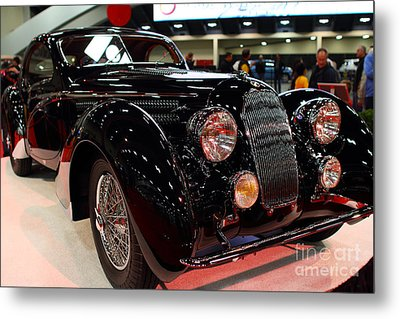 1938 Talbot Lago T150-c Speciale Teardrop Coupe . 7d9307 Metal Print by Wingsdomain Art and Photography