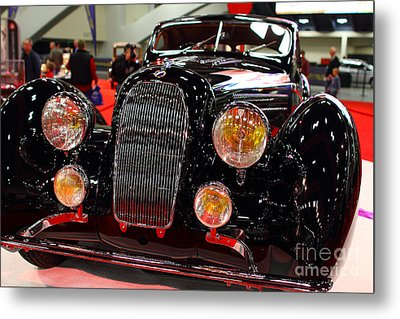 1938 Talbot Lago T150-c Speciale Teardrop Coupe . 7d9311 Metal Print by Wingsdomain Art and Photography