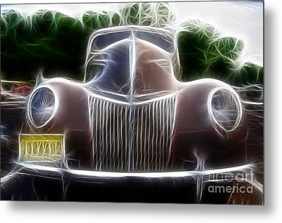 1939 Ford Deluxe Metal Print by Paul Ward