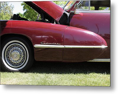 1947 Cadillac . 5d16181 Metal Print by Wingsdomain Art and Photography