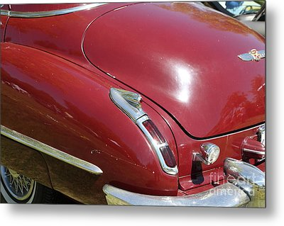 1947 Cadillac . 5d16185 Metal Print by Wingsdomain Art and Photography