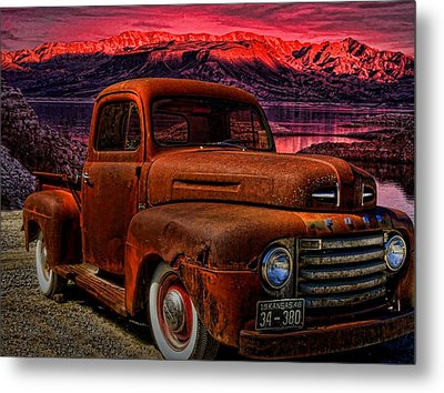 1948 Ford Pickup Truck Metal Print by Tim McCullough