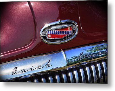 Metal Print featuring the photograph 1951 Buick Eight by Gordon Dean II