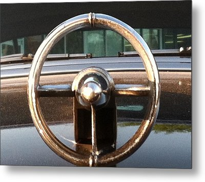 Metal Print featuring the photograph 1952 Buick by Elizabeth Coats