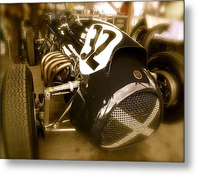 Metal Print featuring the photograph 1952 Cooper Bristol Mk1 by John Colley