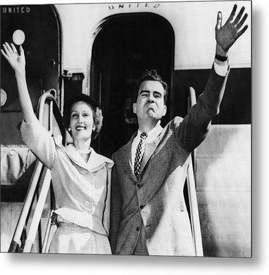 1952 Presidential Campaign.  Patricia Metal Print by Everett