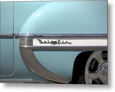 1954 Chevy Belair Metal Print by Mike McGlothlen