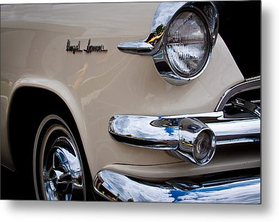 1955 Dodge Royal Lancer Sedan Metal Print by David Patterson